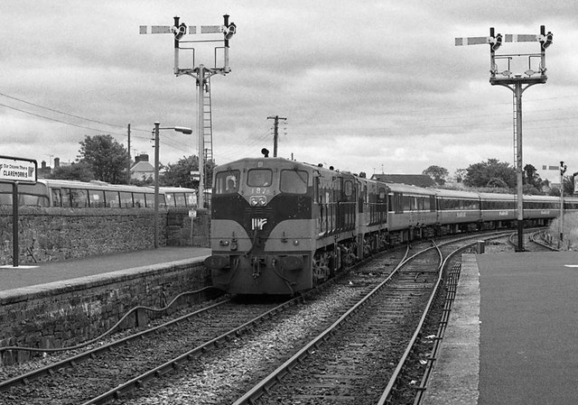 Special train at Claremorris