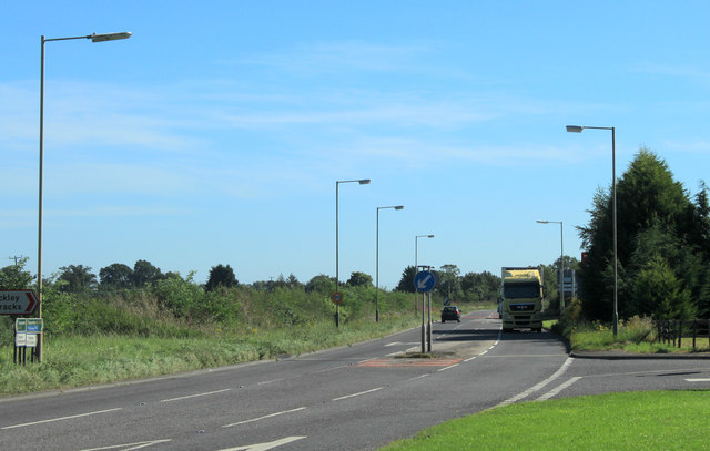 2012 : A429 at Lower Stanton St. Quintin