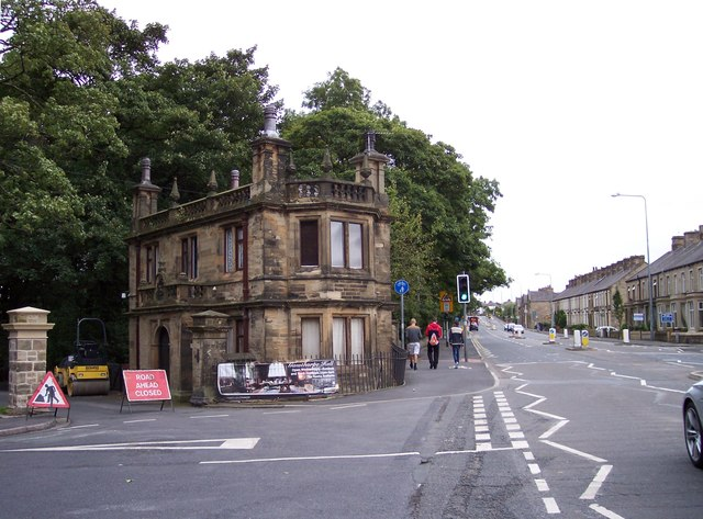 Gawthorpe Hall lodge house in Padiham
