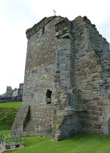 St Andrews - Castle - Fore Tower above mine