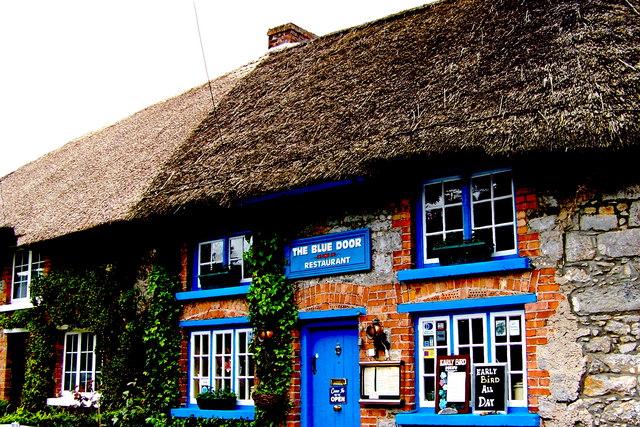 Adare   Main Street (N21)   The (Brick/Stone) Blue Door