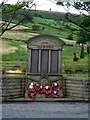 SK0482 : War memorial in Chinley by Graham Hogg