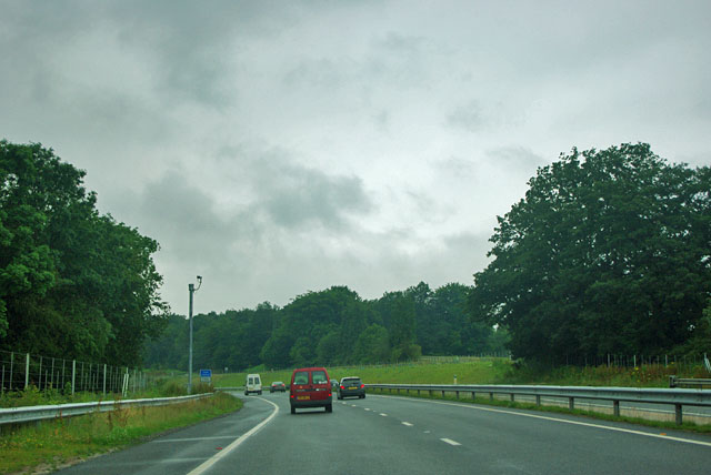 A3 at start of new tunnel route
