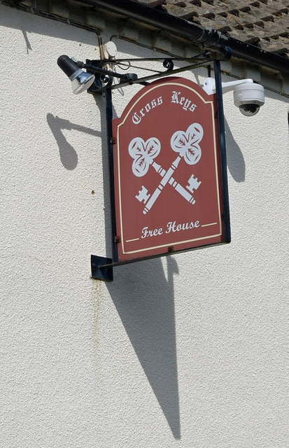 The Sign of the Cross Keys, Stow