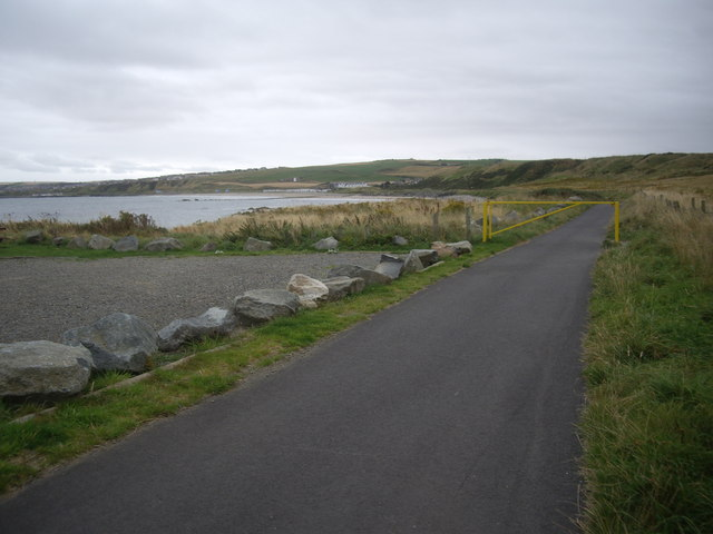 Path to Banff dunes