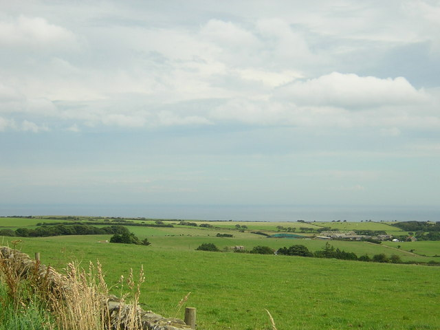 View coastwards off Rudda Road