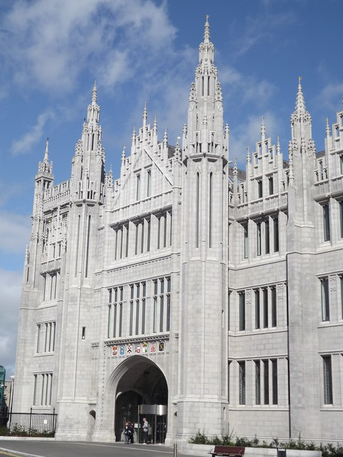 Marischal College Main Gate