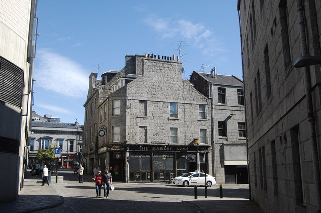 The Market Arms, Stirling Street, Aberdeen