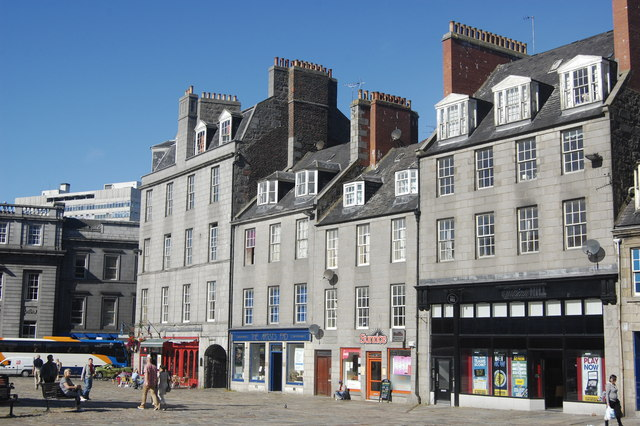 North side of the Castlegate, Aberdeen