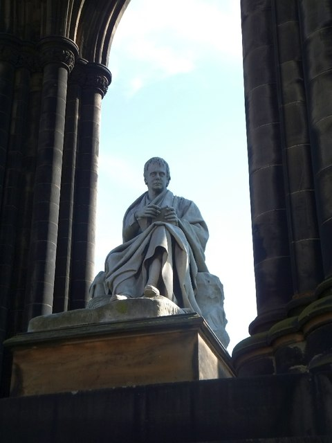 Sir Walter Scott in the Scott Monument