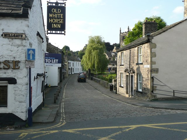 Old main Street, Bingley