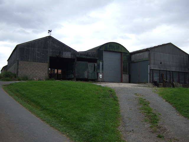 Farm buildings, Nun's Garth