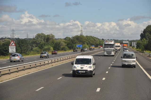 Test Valley : The M27 Motorway