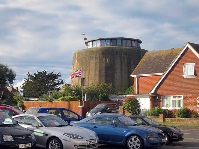 Martello Tower number 60, Pevensey Bay