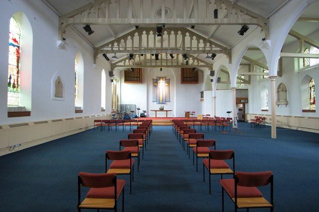 Interior of the Church of St Thomas, Crookes