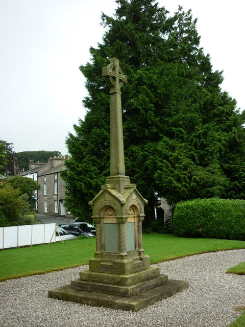 The War Memorial at Kirkby Lonsdale
