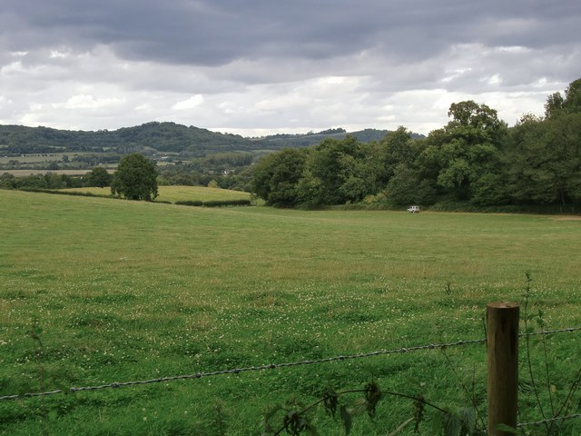 View north-east from Raby's Heath Road