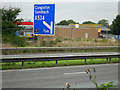 SJ7760 : M6, Sandbach Services by David Dixon