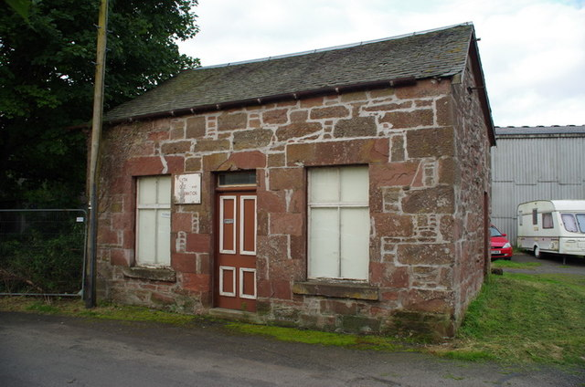 Disused information centre, Alyth