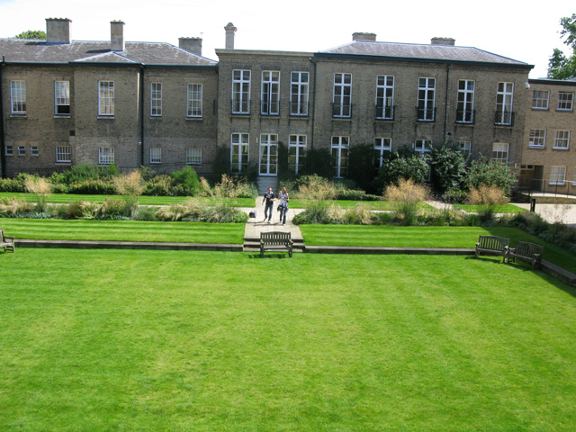 Downing College, view from Howard Lodge