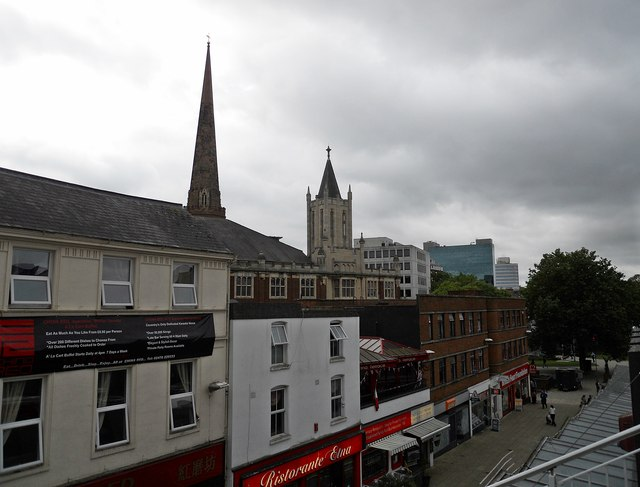 Coventry-Hertford Street Skyline