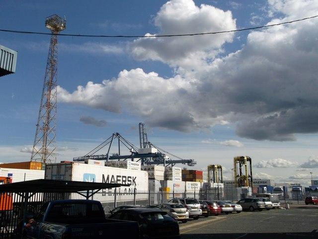 Cranes, Tilbury Docks