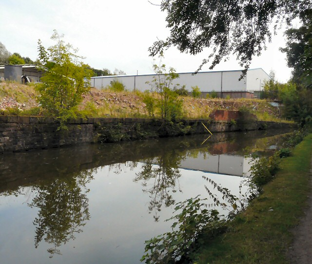 Industrial area by the Peak Forest Canal