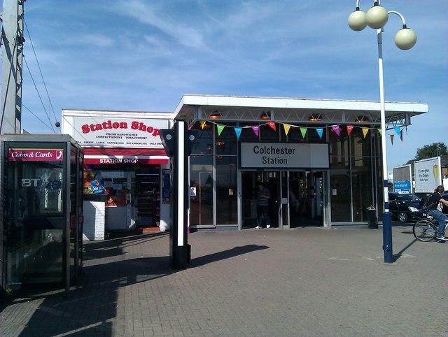 Colchester Station entrance