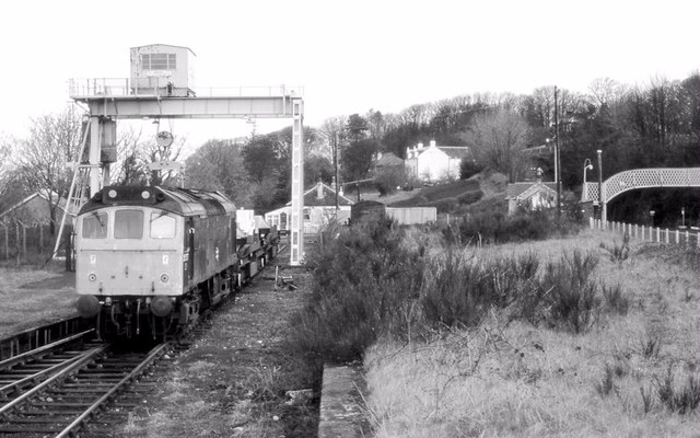 Nuclear flask train, Fairlie