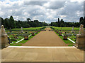 TL0935 : View towards the Long Canal at Wrest Park by Nick Smith
