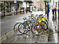 SJ8398 : Corporation Street, Cycle Rack by David Dixon