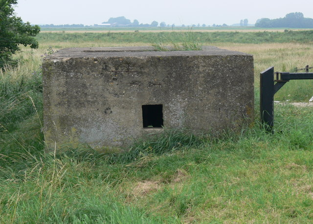 Pill box near the sea wall