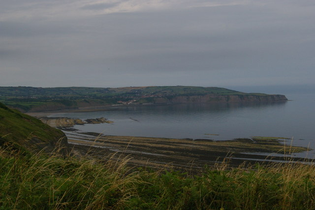 Robin Hood's Bay from the former Low Peak alum works