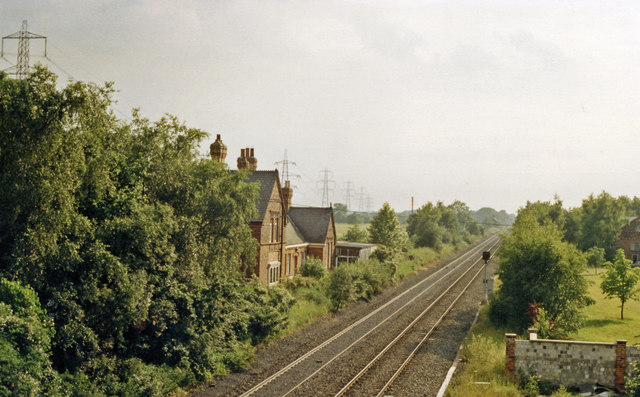 Carlton station (remains), 1988