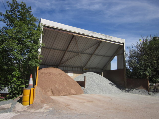 Gravel store, Cemmaes Road