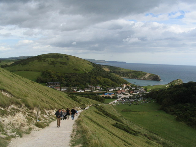 Footpath to Lulworth Cove