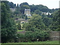 SK2477 : Grindleford view near the river bridge by Andrew Hill