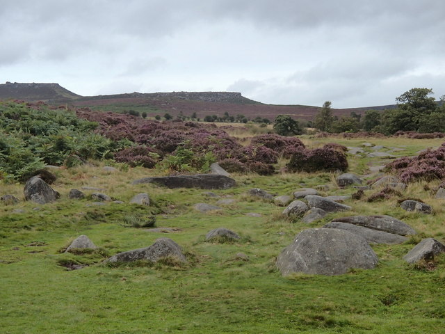 Moorland above Burbage Brook