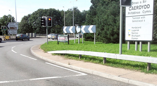 Roundabout at Culverhouse Cross