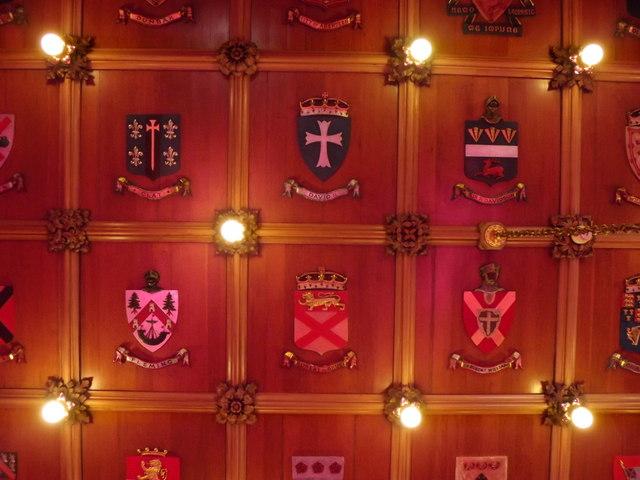 St Nicholas Room Ceiling