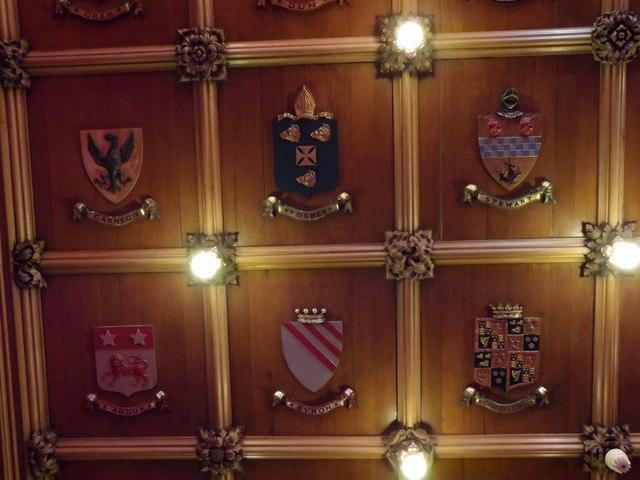 Heraldic Ceiling