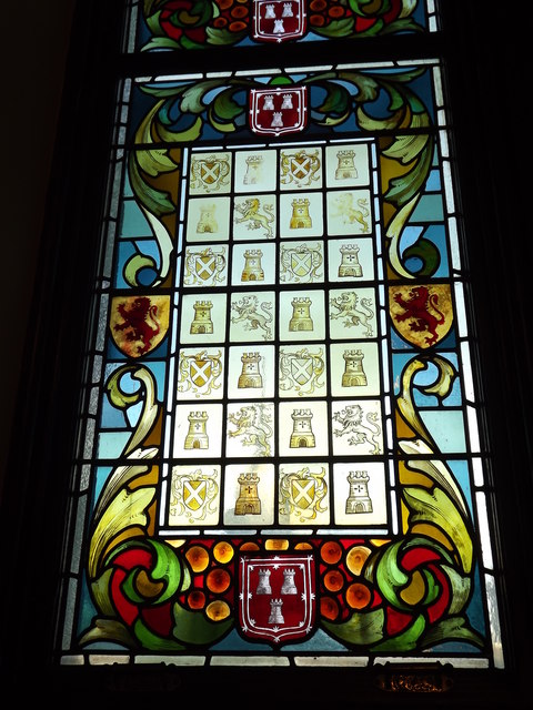 Stained Glass Window, Aberdeen Town House