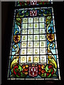 NJ9406 : Stained Glass Window, Aberdeen Town House by Colin Smith