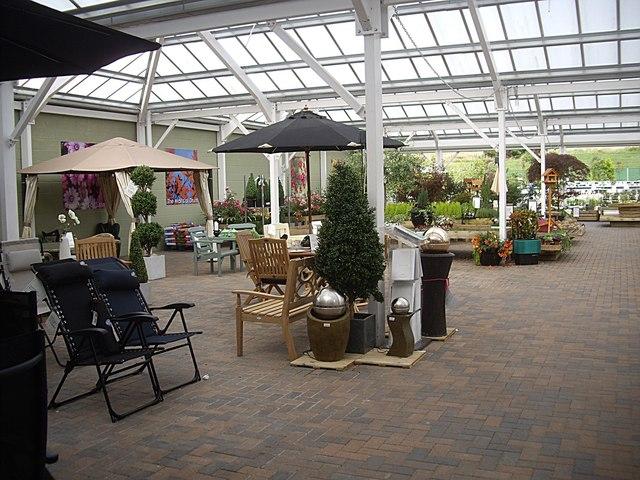 Garden Centre interior