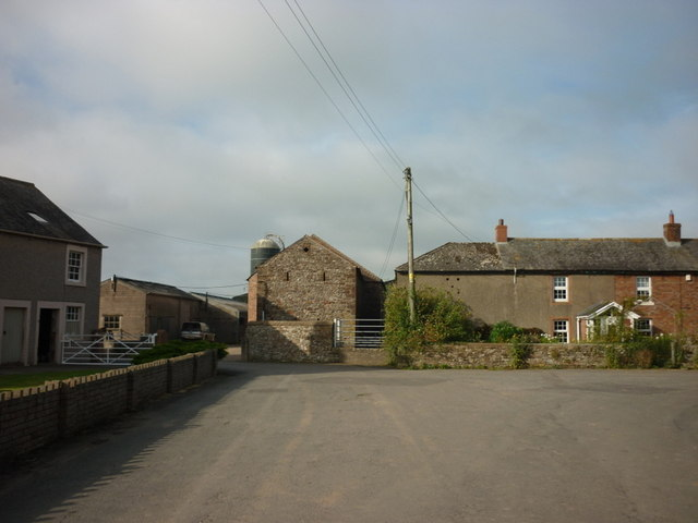 Farm buildings at Lessonhall
