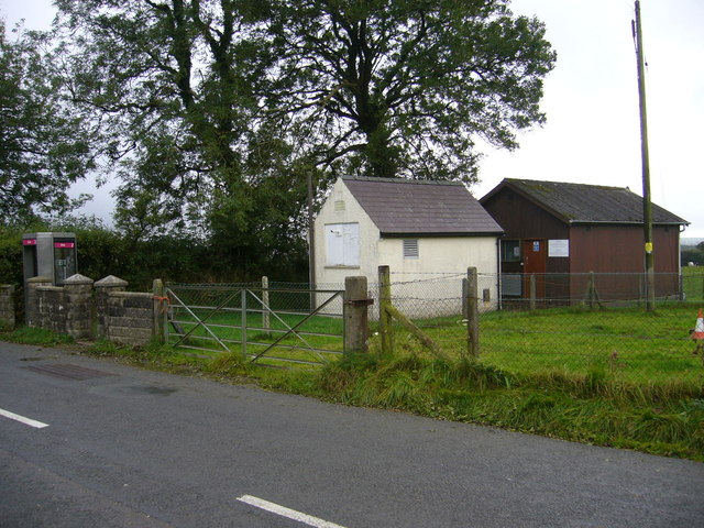 Telephone exchange near Trelech