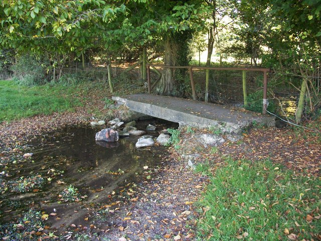 Footbridge over River Misbourne