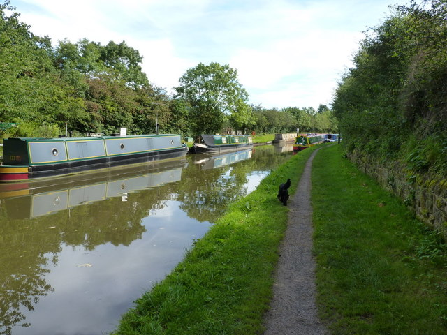 The Shroppy towpath, just outside Gnosall Heath