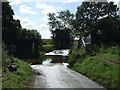TL1763 : Ford and footbridge near Hail Weston by JThomas