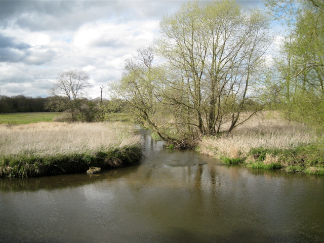 River Blythe heads north from the ford